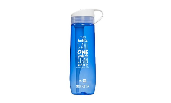 Giving Tuesday Charity Gifts Brita Me to We Water Bottle