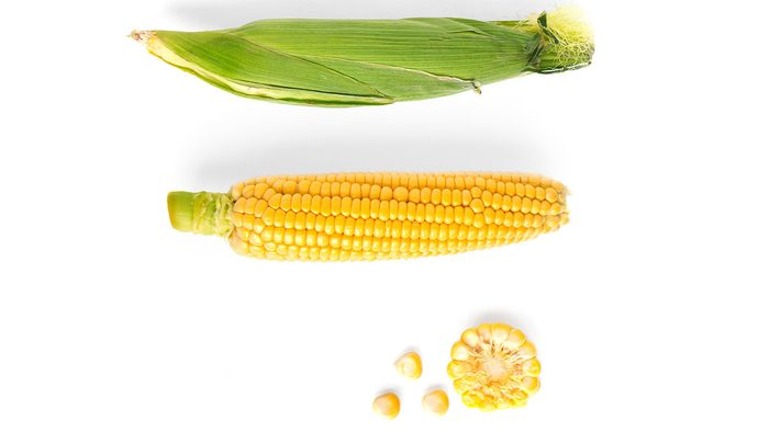 healthiest vegetables corn