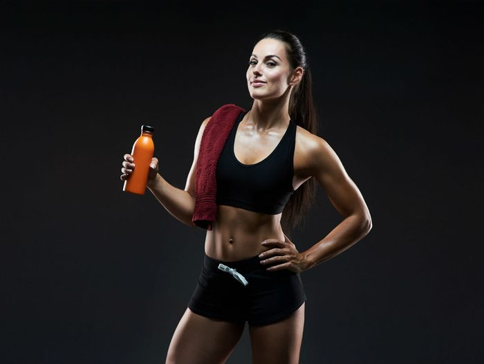 mma gym advice how much water to drink