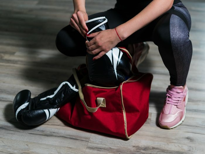 mma gym advice what to have in your gym bag