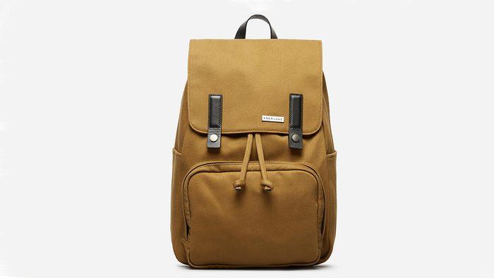traveller gift guide Everlane backpack