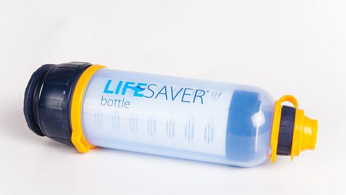 traveller gift ideas LifeSaver water bottle
