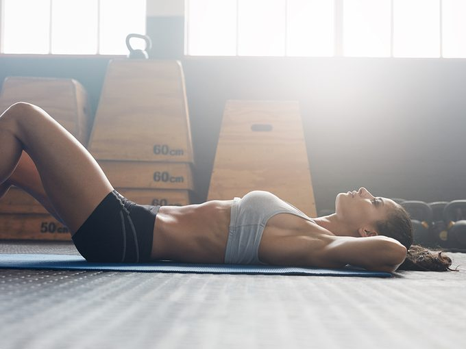 core move slimmer stomach transverse hold