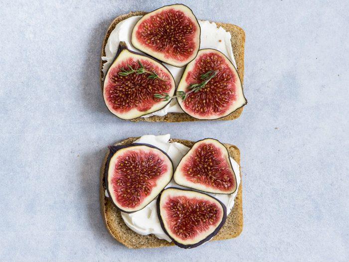 fig recipes   fig toast