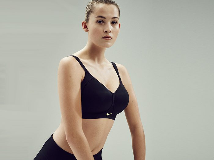 sports bra issues cup size problems, nike pro hero bra