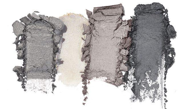 Metallic Eyeshadow, dark skin