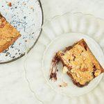 Healthy Way To Make Brownies: Almond & Smoked Salt Blondies