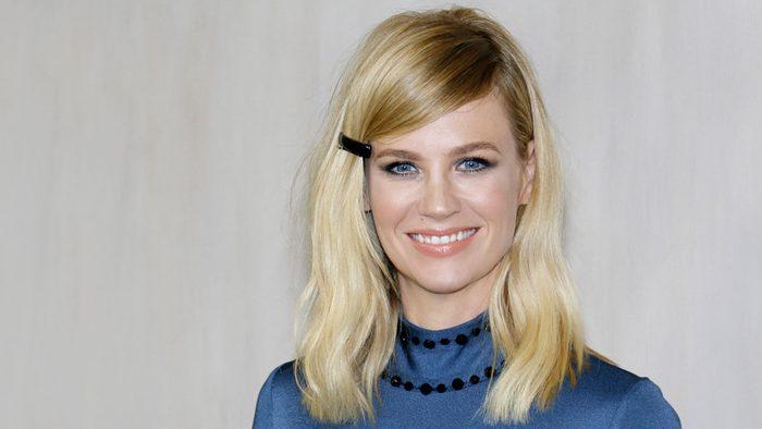 celebrity blonde stylist January Jones