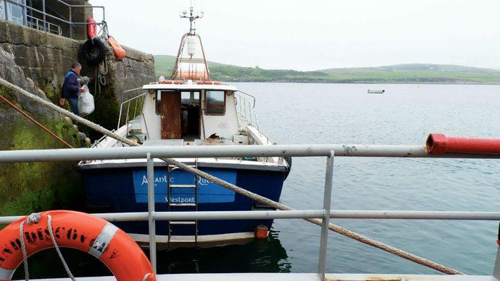 walking ireland Inishbofin Ferry
