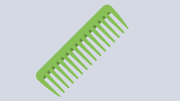 Hair Breakage, wide tooth comb