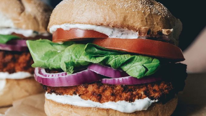 Buffalo Cauliflower Sandwich