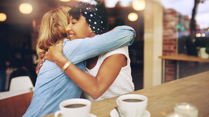 Happy People, hugging
