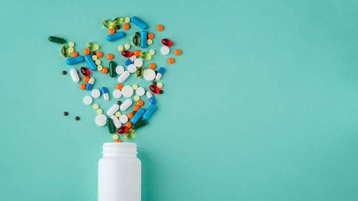 Breast Cancer Advancements, bottle of pills