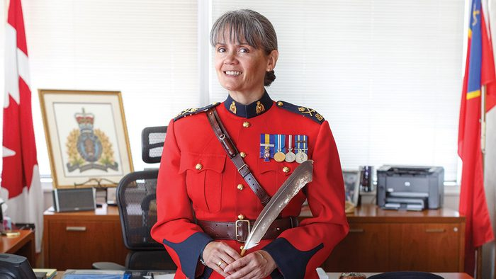 Brenda Butterworth-Carr, RCMP