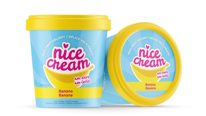 nicecream and healthy ice cream