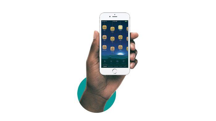 Sleep products, smartphone app