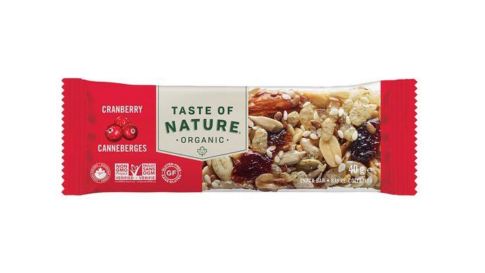 Best Energy Bar, Taste of Nature