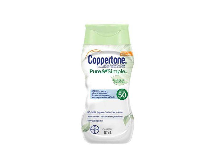 Coppertone Mineral Sunscreen