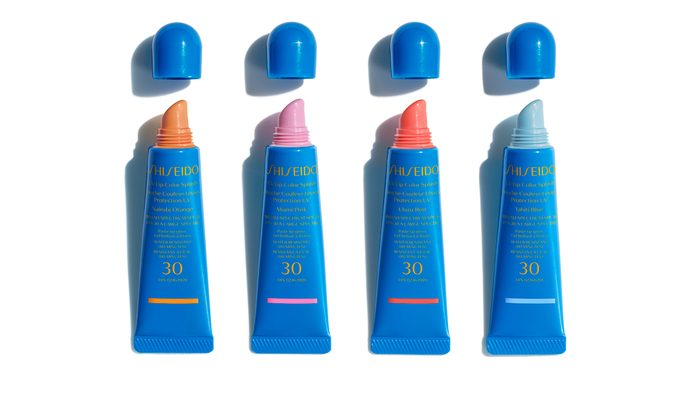 sunscreen for your scalp and lips