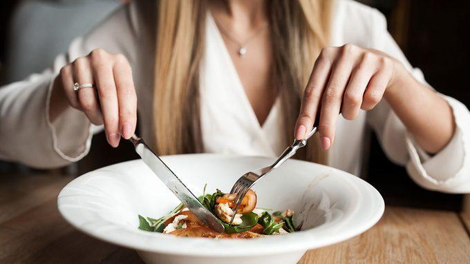 Celiac Disease Treatment, woman eating