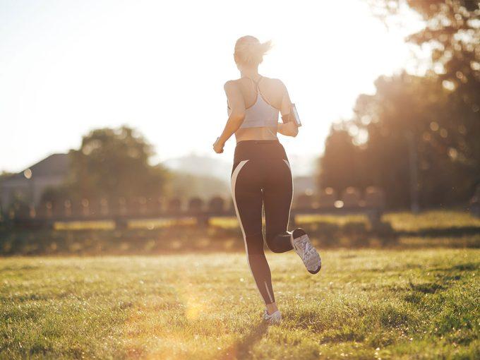Workout Fuel, woman running