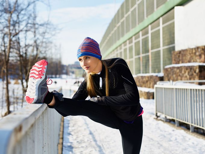 how to get motivated to exercise in winter