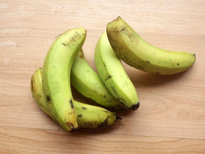 green bananas probiotic foods