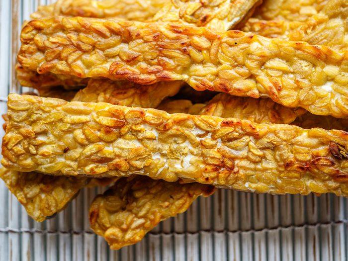 probiotic foods tempeh