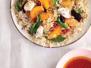 An Elegant Side: Brown Butter & Orange Cauli-Couscous Salad