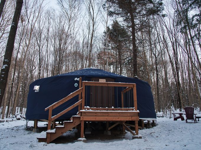 Outside photo of Woods Parka Lodge