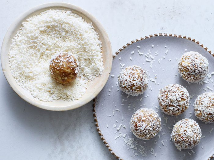 Lime and Coconut Energy Bites   citrus recipes