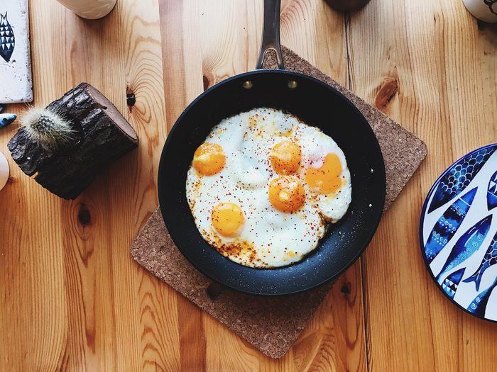 Breakfast of eggs