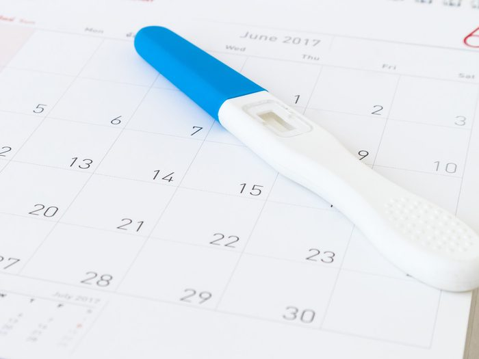 fertility pregnancy test