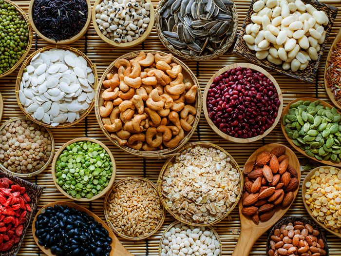 vegan protein sources seeds nuts