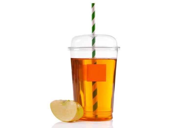 worst fast food apple juice