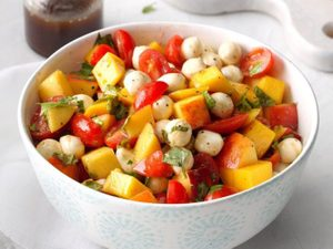 This Caprese Salad Is a Fresh and Fruity Take on the Italian Classic