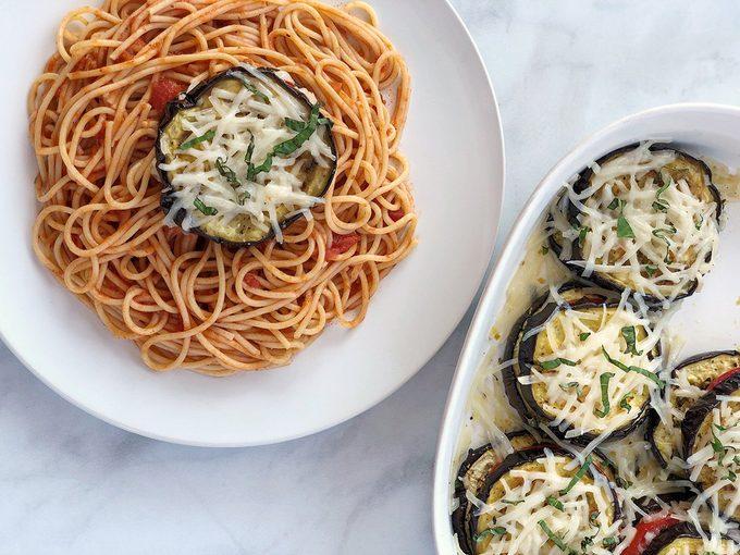 vegan eggplant parmesan