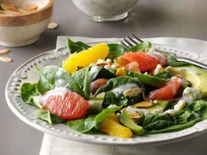 This Citrus Spinach Salad Will Seriously Fill You Up