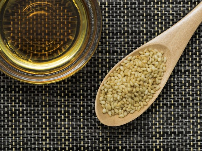 Sesame oil and sesame for healthy life