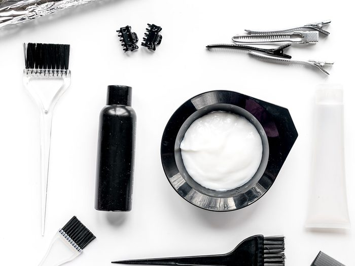 hair dye tools