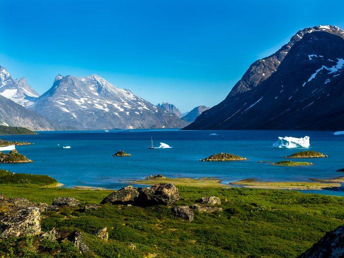 travel destinations for 2020 - Greenland