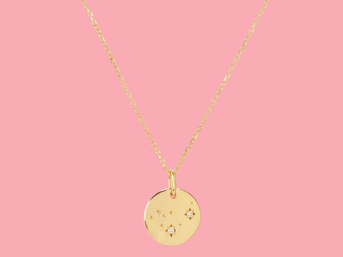 mejuri capricorn zodiac necklace
