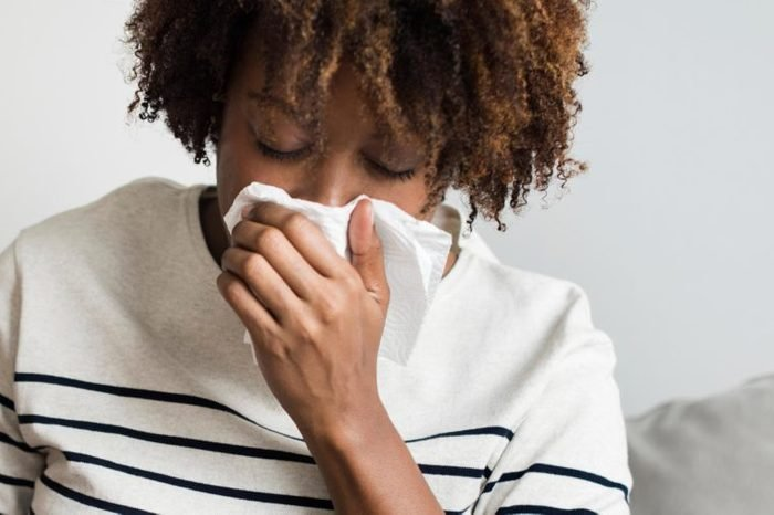 metallic taste in mouth sinus infection