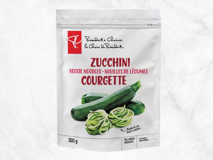 president's choice plant-based staples zucchini noodles