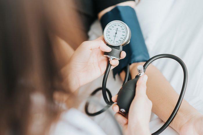 blood pressure under control