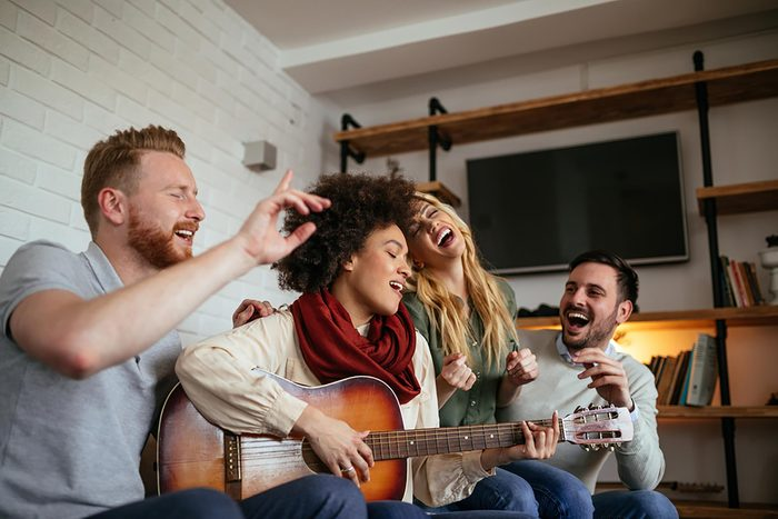 Boost your immunity naturally   4 people singing