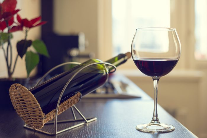 Boost your immunity naturally   glass of red wine