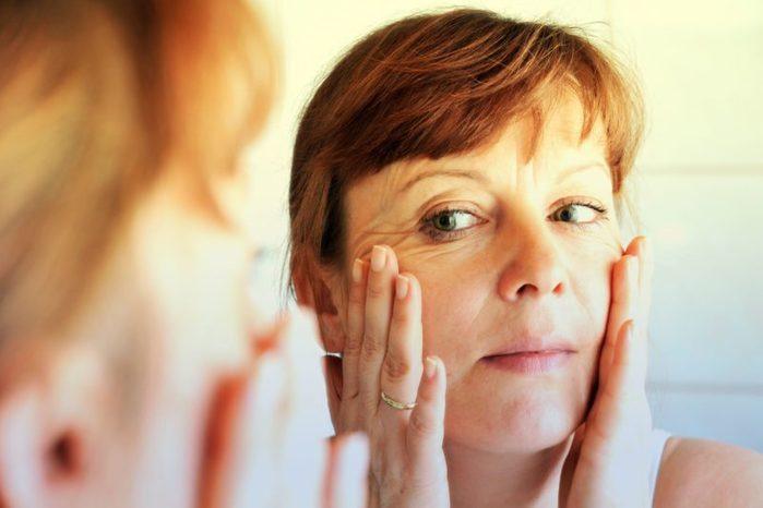 adult acne scrub skin