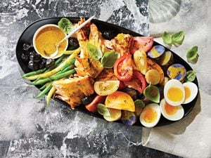 This Grilled Salmon Niçoise Is Perfect for Summertime Entertaining
