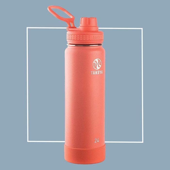 takeya stainless steel water bottle